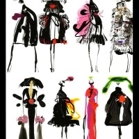 Fashion Illustration: Christian Lacroix
