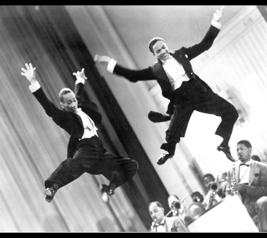 The Nicholas Brothers in Stormy Weather directed by Andrew L. Stone, 1943