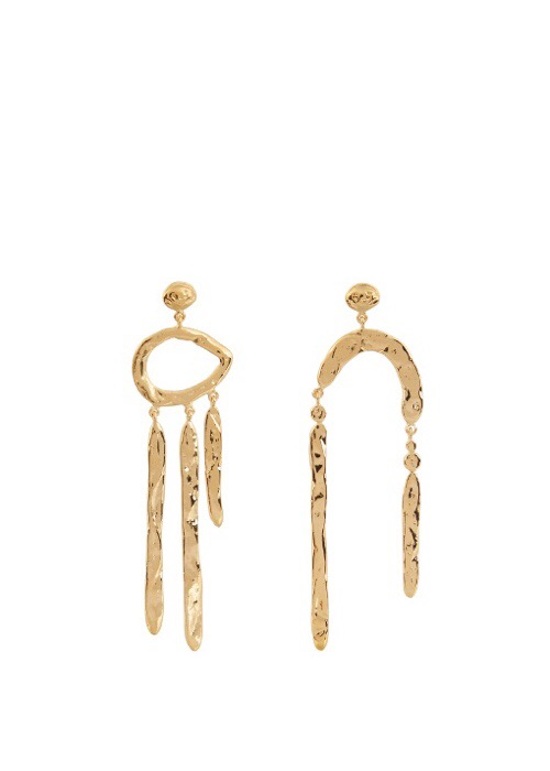 Aurélie Bidermann's Melina Abstract Earrings