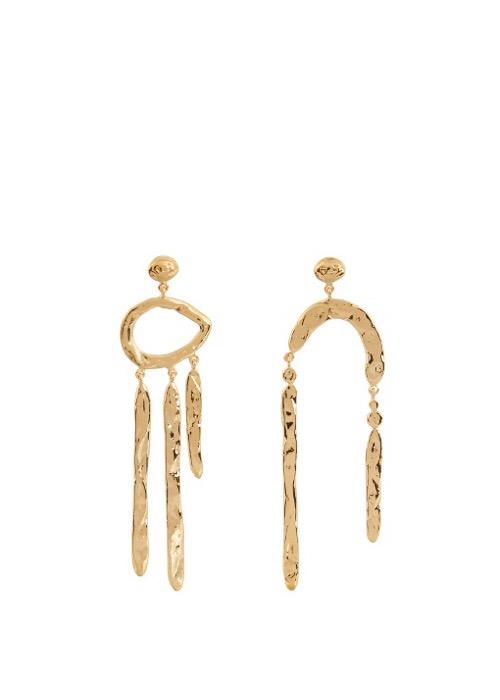 Aurélie Bidermann's Melina Abstract Earrings