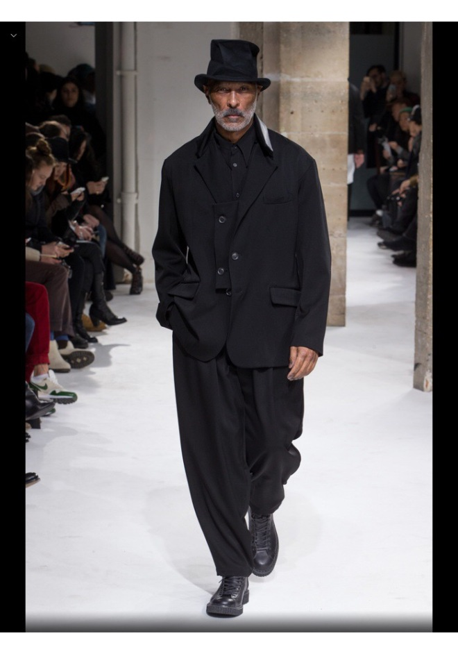 Yohji Yamamoto Menswear 2017