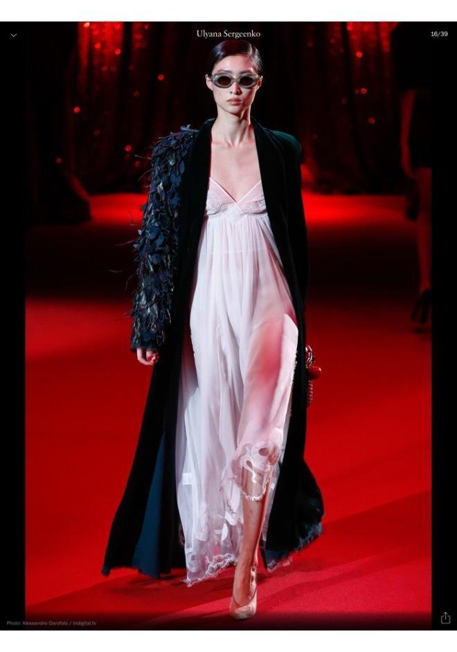 Ulyana Sergeenko Spring 2017 Couture