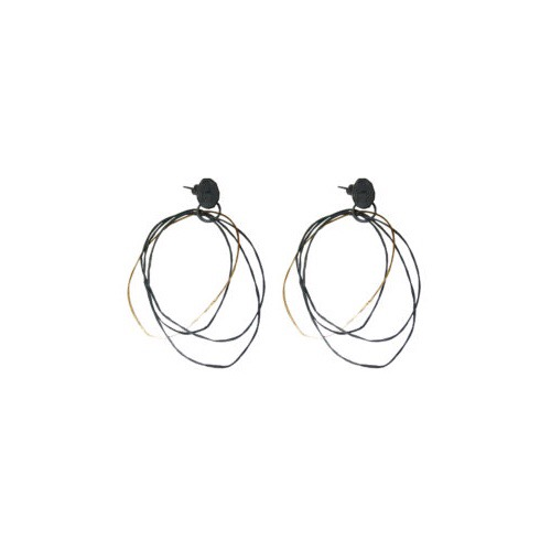 The Jennie Gill Oxidised Silver & 18CT Gold Hoop Earrings, £245