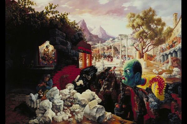 Peter Blume The Eternal City 1934-37 (dated on painting 1937)