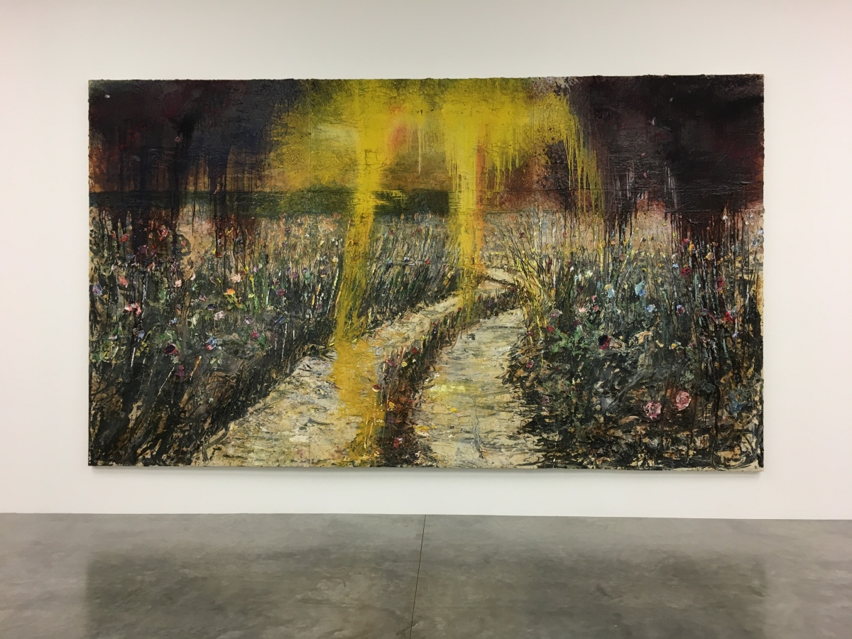 Anselm Kiefer at White Cube, Bermondsey