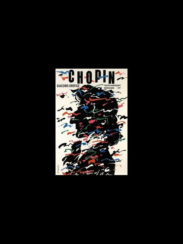 Chopin: Poster Design by Waldemar Swierzy