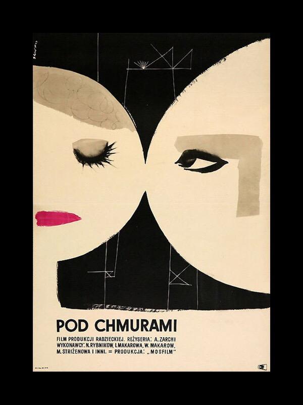 Pod Chmurami: Poster Design by Waldemar Swierzy