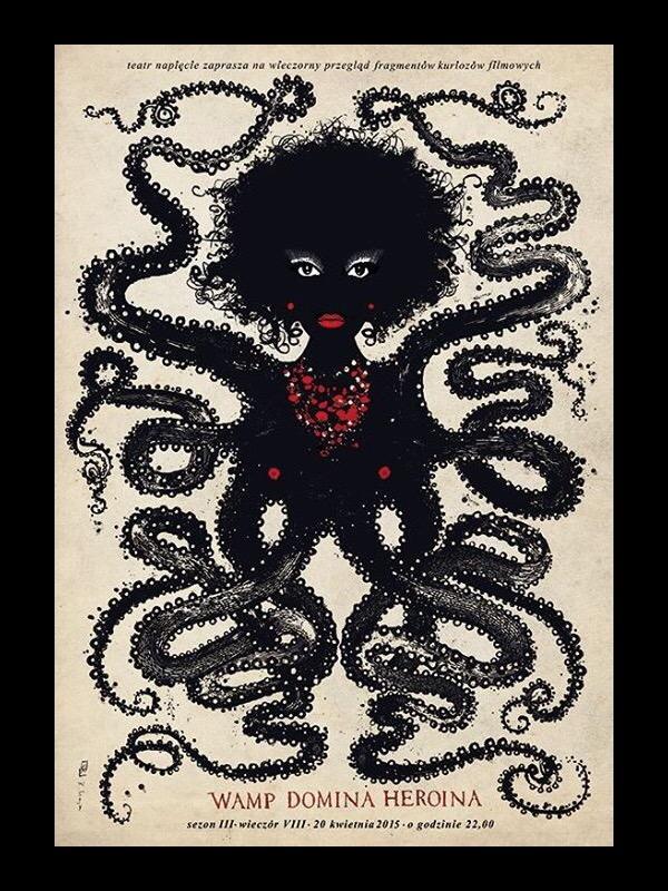Vamp Domina Heroina: Poster Design by Ryszard Kaja