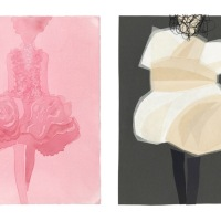 Illustration: Dior by Mats Gustafson