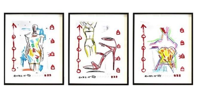 Gary John 'Runway Triptych' 2015, on 1stDibs