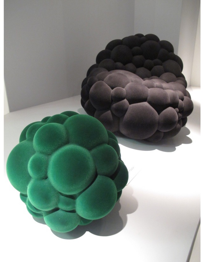 Maarten De Ceulaer: Mutation Series - Low Organic Chair & Organic Stool for Industry Gallery 2012