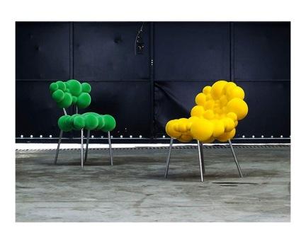 Maarten De Ceulaer: Mutation Series - Chairs With Legs for Industry Gallery 2012