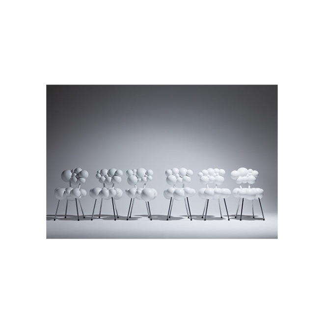 Maarten De Ceulaer: Mutation Series - Chairs With Legs for Industry Gallery 2012