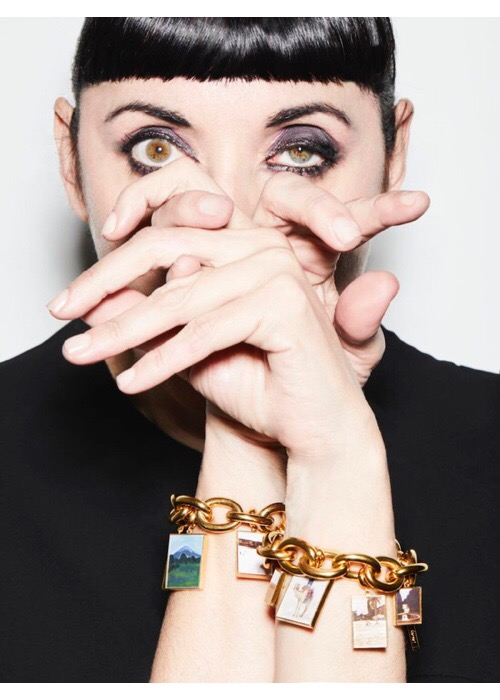 Caro Niederer, Charm Bracelet 1, 2009 Photograph by Gorka Postigo, modelled by Rossy de Palma © Caro Niederer Courtesy the artist and Hauser & Wirth