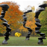 YSP Exhibition: A Rare Category of Objects by Tony Cragg