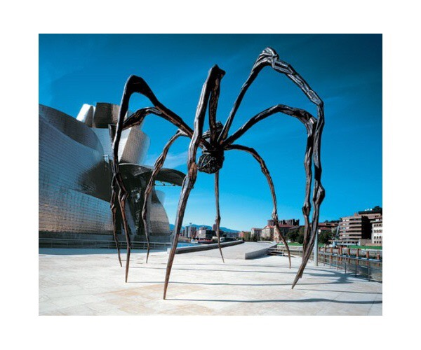 Maman, 2001, by Louise Bourgeois at the Guggenheim Bilbao