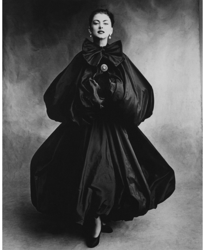 Balenciaga Double Balloon Cape, 1953
