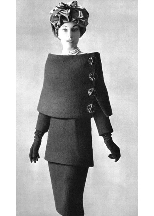 Balenciaga Wool Suit, 1956