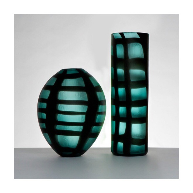 Grid Collection by Simon Moore, price on application. Image Courtesy Vessel Gallery