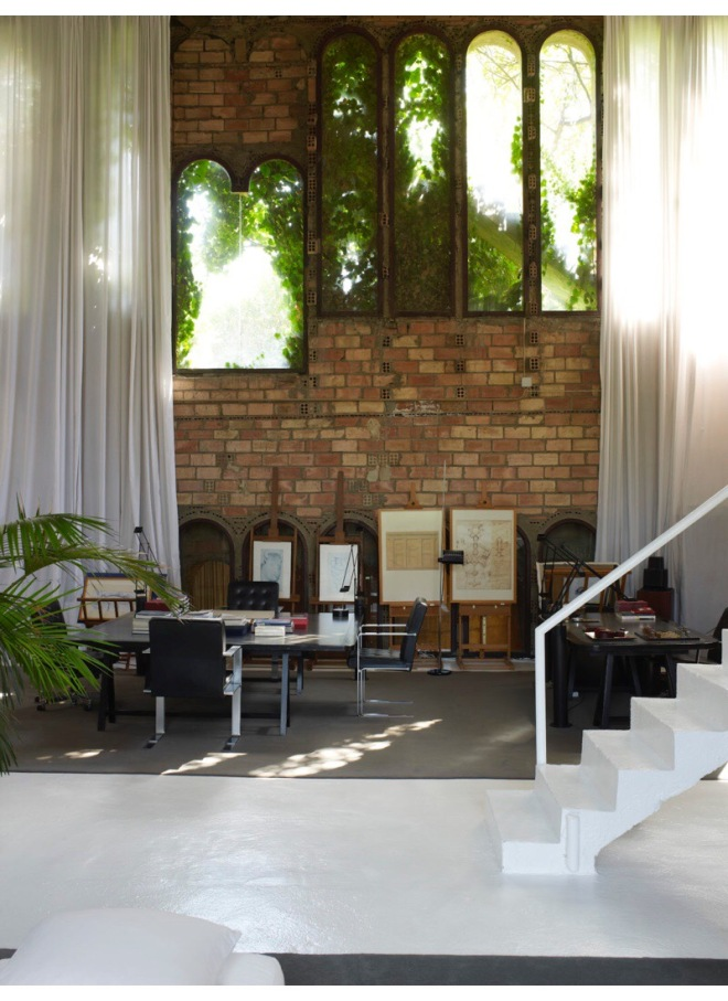 Ricardo Bofill at La Fabrica: The Residence