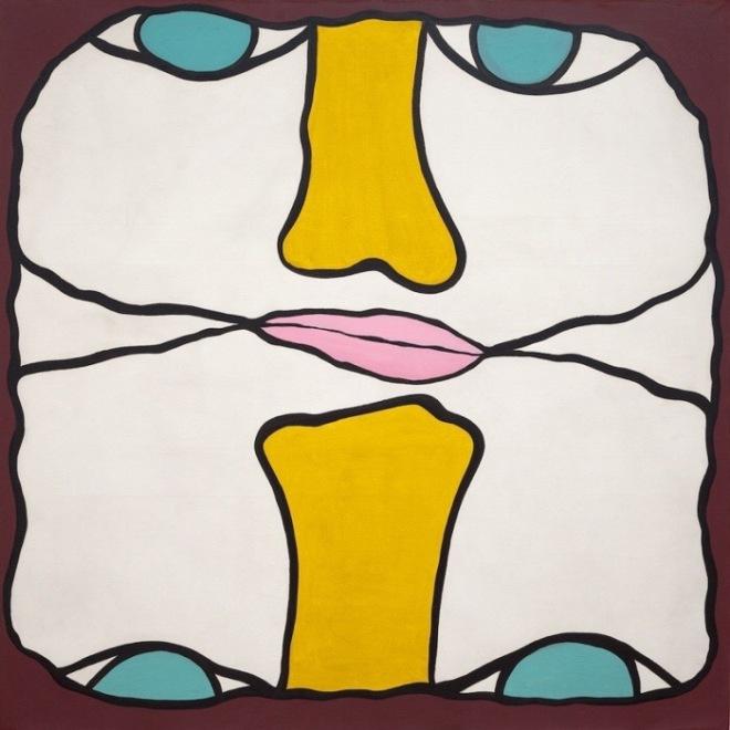 Huguette Caland, Tête-à-tête, 1970 Source: Priscilla Frank in Huffpost, 2014.
