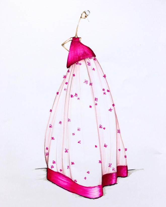 Illustrator: Sofie Nordstrom Temperley London