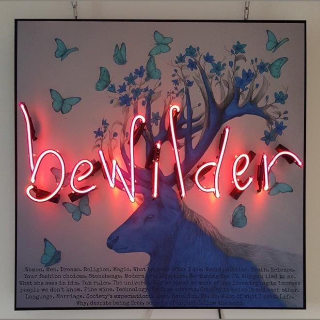 Bewilder Artist: Rebecca Mason Image Source: rebeccamasonneon.com Artwork Copyright 2013-2017 Rebecca Mason