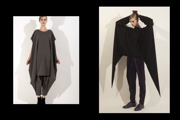 Dress and Blouse, Digitaria Lethe Collection A/W 2012/13