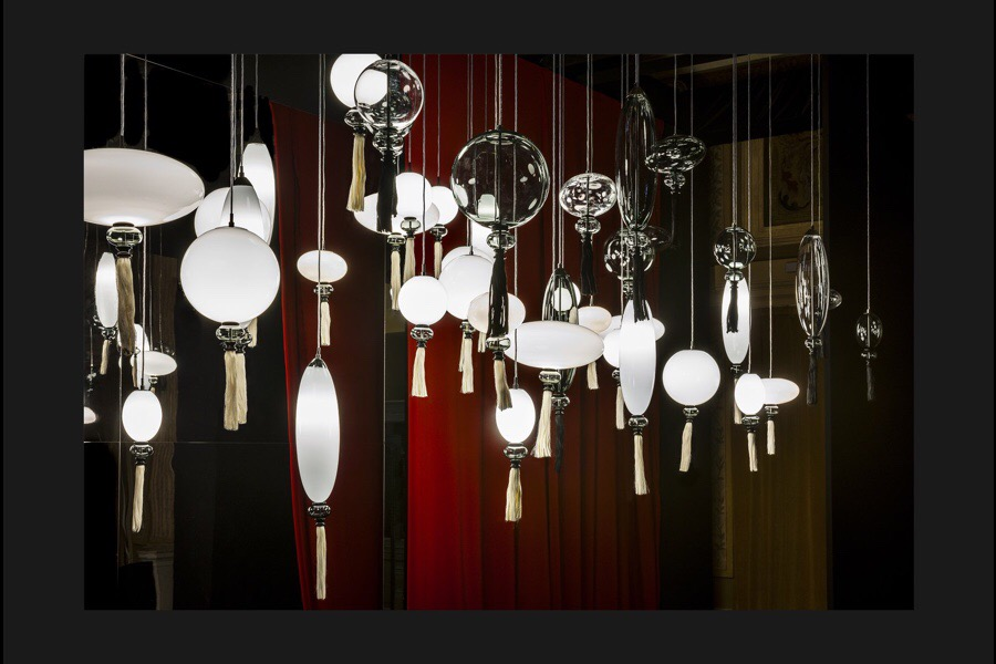 Marcel Wanders Calliope Pendants, for Wonderglass, April 2017