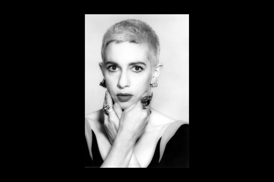 Kathy Acker, 1947 - 1997. Image may be subject to copyright.