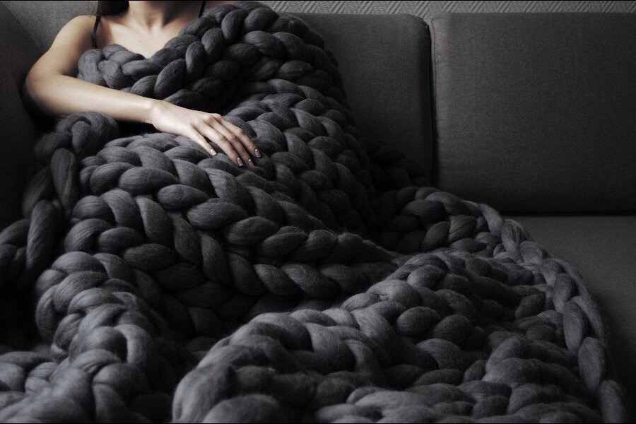 Chunky Wool Knits from Anna Marinenko, Ohhio.