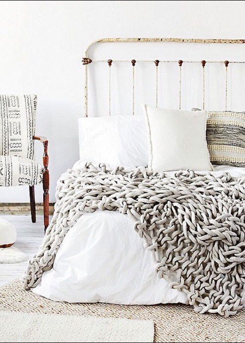 Hand Knitted Throws and Blankets by Jacqui Fink, Little Dandelion