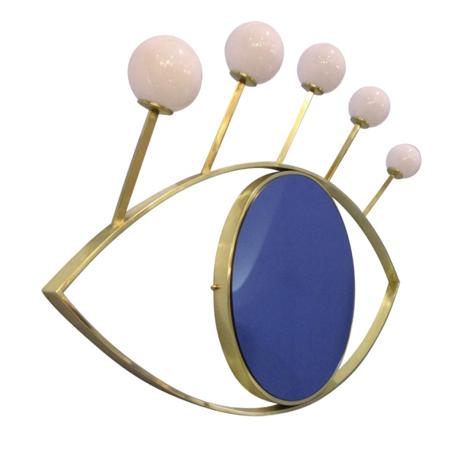 Nicola Falcone at Artemest: Mirror Lamp Blue Eye