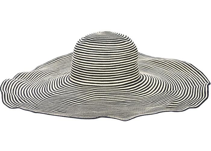 Moncler Grey Wide-Brim Sunhat £176