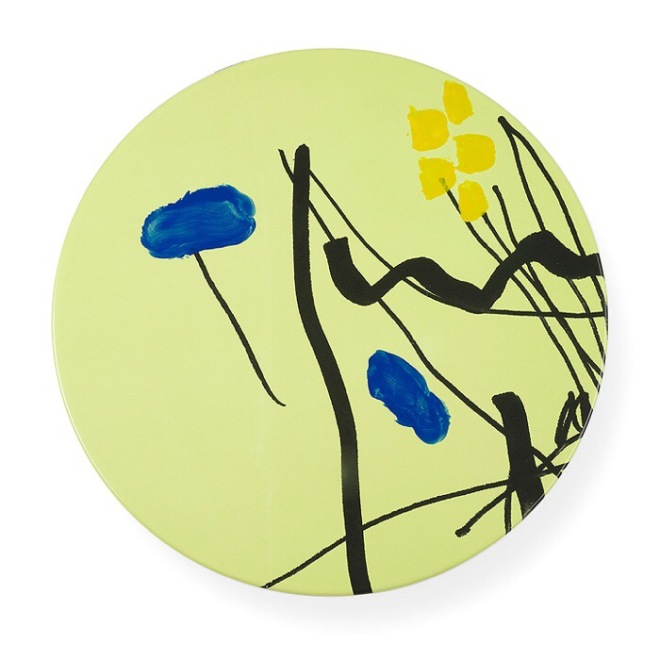 GARDEN WARE platter by Bruce McLean for 1882 Ltd at the V&A Shop