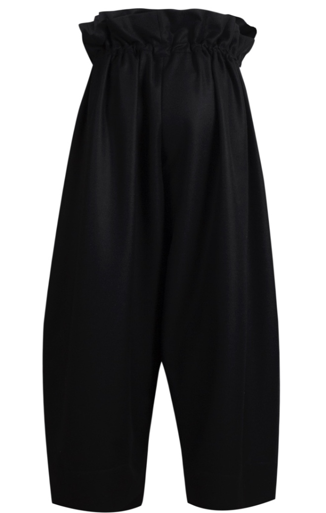 Nomad Atelier Cashmere Wide Leg Drawn Trouser £695