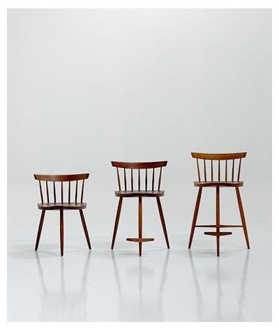 George Nakashima Mira Chairs c.1950