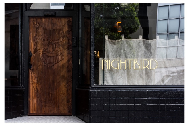 Nightbird Restaurant, San Francisco, Chef/Owner Kim Alter