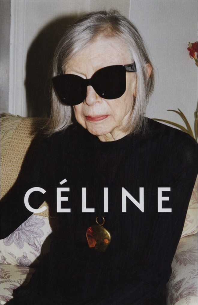 Joan Didion for Céline, 2015