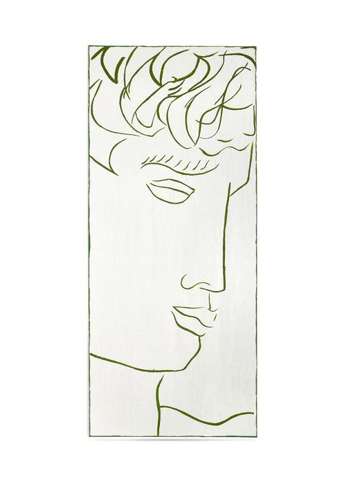 Summerill & Bishop 'Antinous I' S&B x Luke Edward Hall Linen Tablecloth