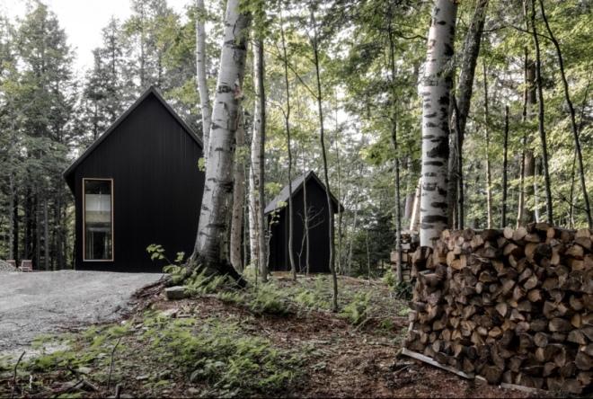 Appareil Architecture: Chalet Grand-Pic, Quebec