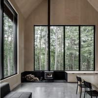 Appareil Architecture: Chalet Grand-Pic, Quebec