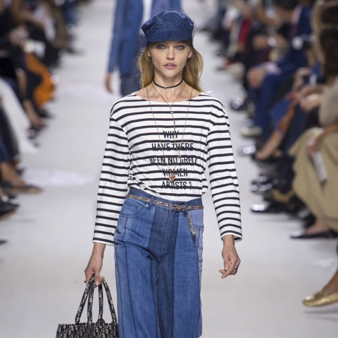 "@dior's new statement top brings up a pertinent question once asked by American art historian Linda Nochlin: ""Why have there been no great women artists?"
