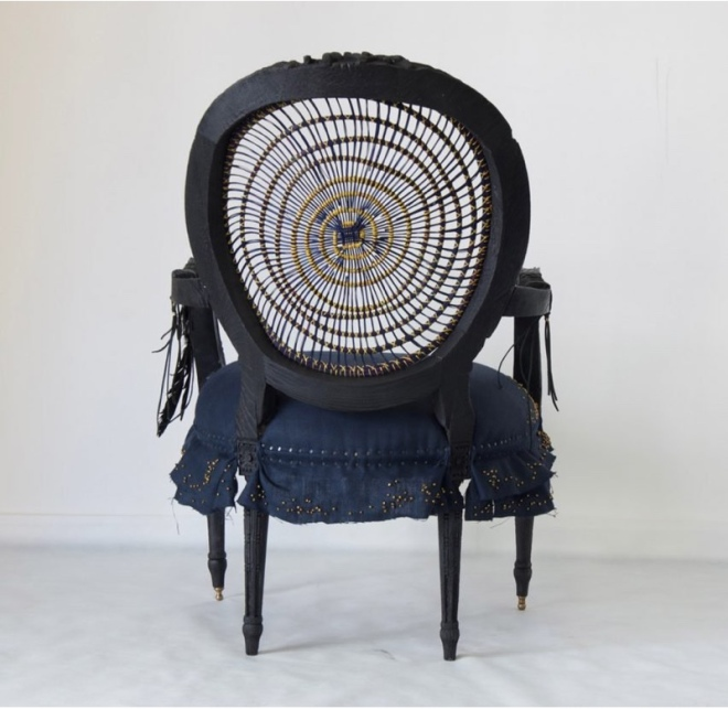 Atang Tshikare and Eve Collett's Leifo chair