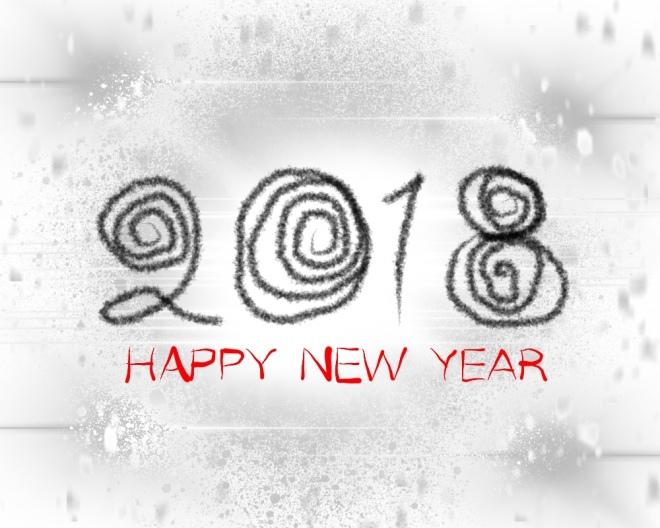 Elle illustrates on Plus Black blog: Happy New Year 2018