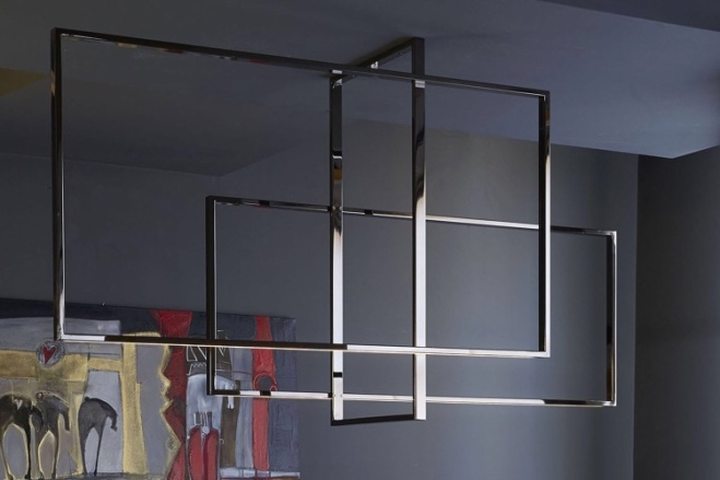 Venice M: Mondrian LED Ceiling Light