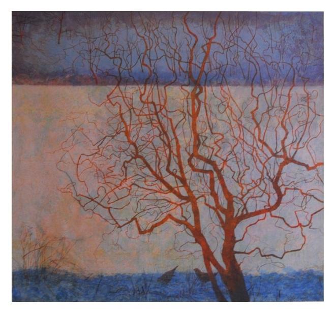 Victoria Crowe: Winter Garden, 2012, at The Scottish Gallery