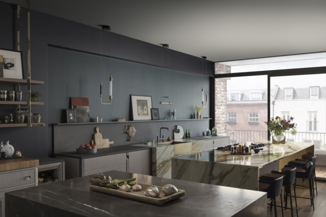 Kitchen by Lanserring, London. Photography courtesy of Lanserring.