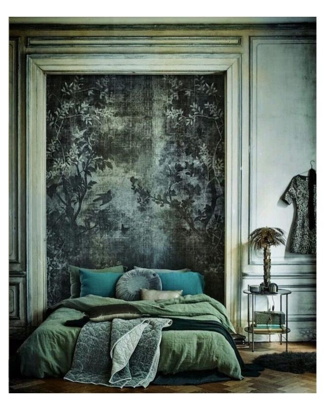 Insta Image @11solutions Wall&decò Wallpaper: Midsummer Night 2015 Designer Lorenzo De Grandis