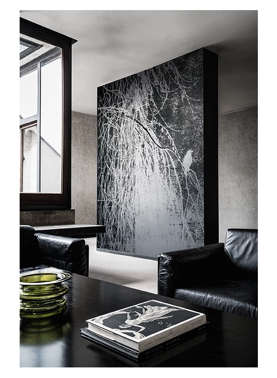 Wall&decò Wallpaper: Alba Salix 2018